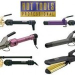Hot tools curling irons