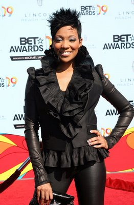 monica, bet awards, monica hair style