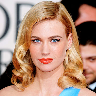january jones, january jones hair,january jones hollywood hair