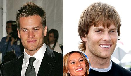 tom brady hair,tom brady long hair,tom brady giselle