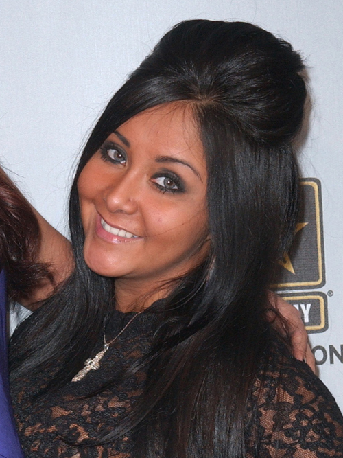 snooki, snooki hair,snooki hair style, snooki hair tutorial