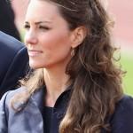 Kate Middleton,Kate Middleton hair,Kate Middleton hairstyle,Kate Middleton wedding hair,Kate Middleton half up half down