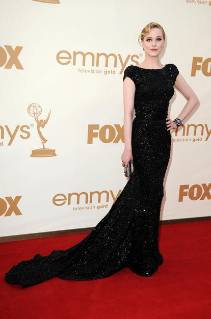evan rachel wood, evan rachel wood emmys, evan rachel wood hair, evan rachel wood emmys hair, celebrity hair, emmys hair