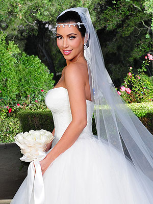 Kim Kardashian&#8217;s Wedding Hair Style
