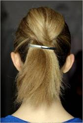 marc by marc jacobs, marc by marc jacobs hair, fashion week hair, runway hair style, fashion week hair style