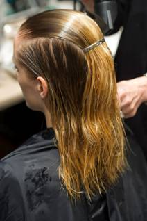 fashion week hair, victoria beckham fashion week, victoria beckham hair, fashion week style