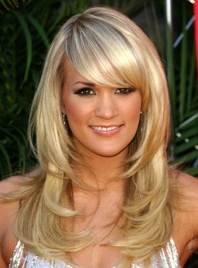 carrie underwood, carrie underwood hair, carrie underwood hair style