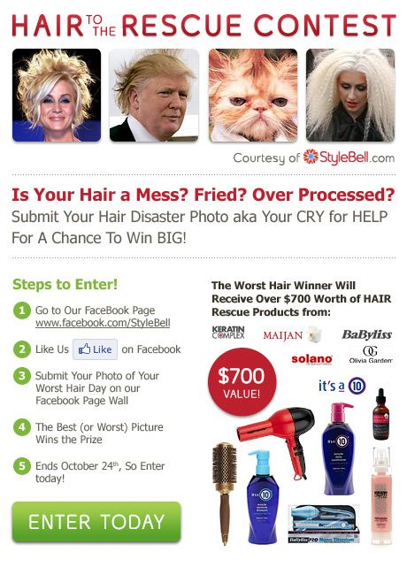 Stylebell HAIR To The Rescue Giveaway