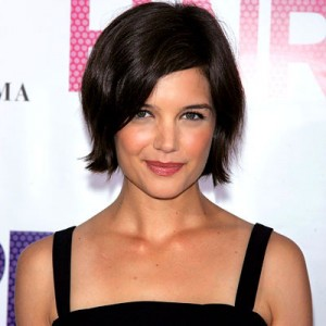 katie holmes, katie holmes bob, katie holmes hair, katie holmes hair style