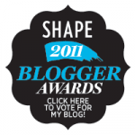 award, shape blogger awards, best beauty blogger award