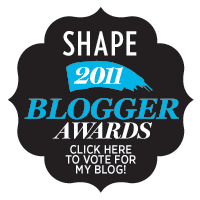 award, shape blogger awards, best beauty blogger award