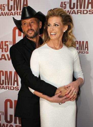 tim mcgraw, faith hill, CMA awards