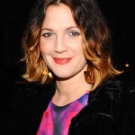drew barrymore, drew barrymore hair, drew barrymore ombre hair, ombre hair color, celebrity ombre hair