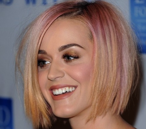 katy perry, katy perry hair, katy perry blonde, katy perry bob, short hair, celeb short hair