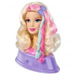 barbie, barbie doll head, barbie hairtastic