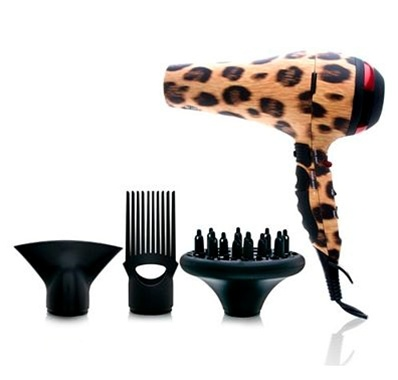hot tools, hot tools hair dryer, cheetah hair dryer, leopard hair dryer