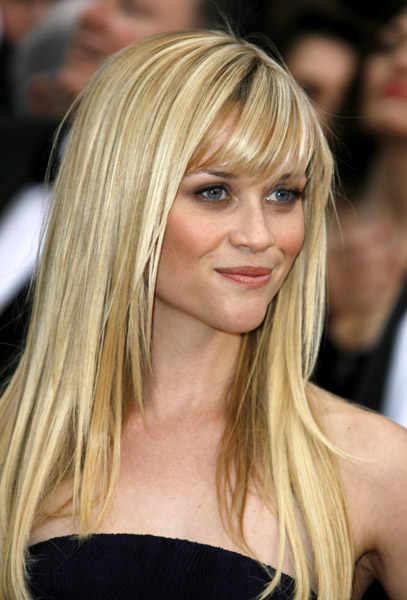 Reese Witherspoon, blonde, blond hair, hairstyles, hair style