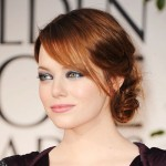 emma stone, emma stone golden globes, emma stone golden globes hair, emma stone red hair, emma stone 2012 golden globes hair