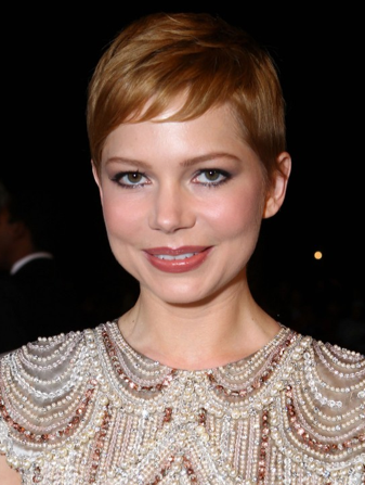 michelle williams, michelle williams hair, michelle williams red hair, michelle williams new hair