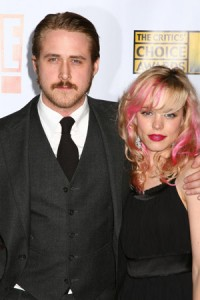 rachel mcadams, rachel mcadams hair, rachel mcadams pink hair, celebs with pink hair
