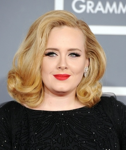Adele at the Grammy's Awards 2012