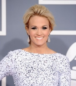 Carrie Underwood 2012 Grammy Awards