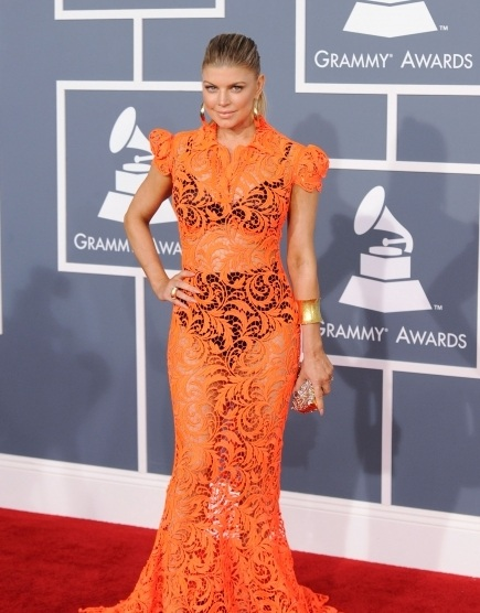 Fergie Hair, grammy awards, Fergie Hair hair style, Fergie dress