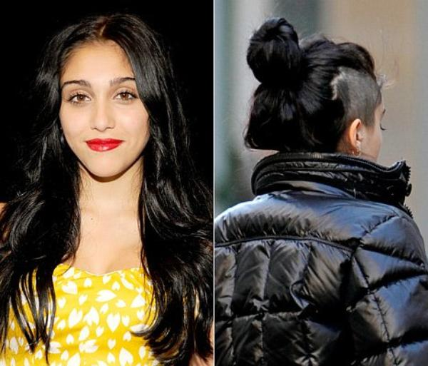 Madonna's Daughter Lourdes Shaves Head
