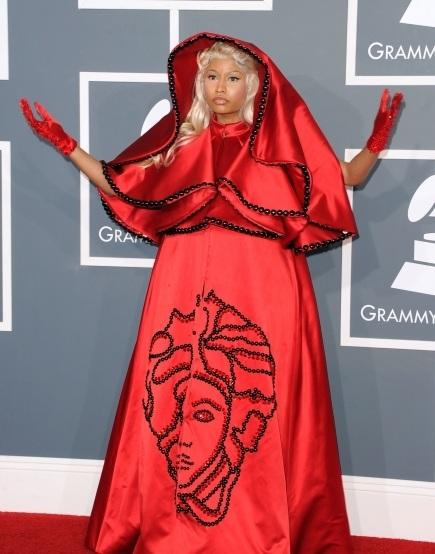 Nicki Minaj, Nicki Minaj hair, Nicki Minaj grammy's, grammy, 2012 grammy