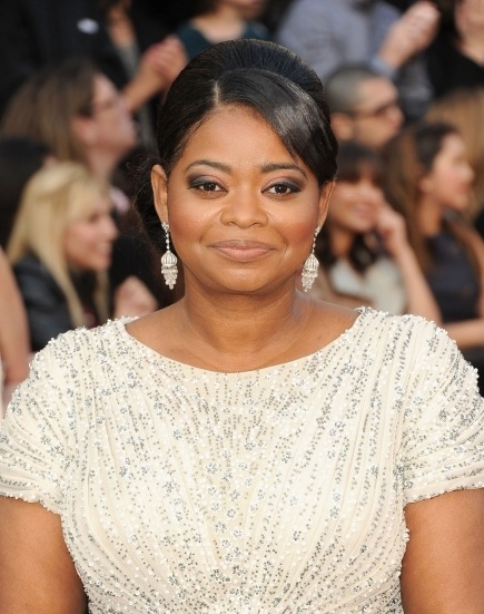 Octavia Spencer 2012 Oscars Academy Awards