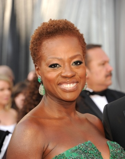 Viola Davis 2012 Oscars Academy Awards