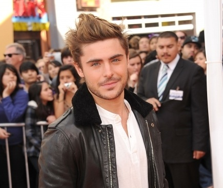 Zac Efron, Zac Efron hair, Zac Efron hair style, Zac Efron hairstyle, lorax premiere