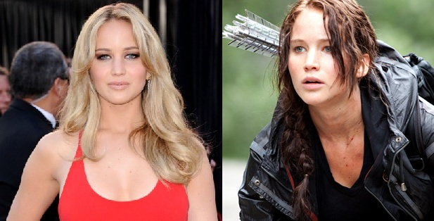 Jennifer Lawrence Hunger Games, Jennifer Lawrence hair, Jennifer Lawrence Hunger Games hunger games hair