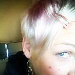 Pink pink hair, pink hairstyle, pink hair style, pink
