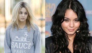 Vanessa Hudgens Blonde Hair