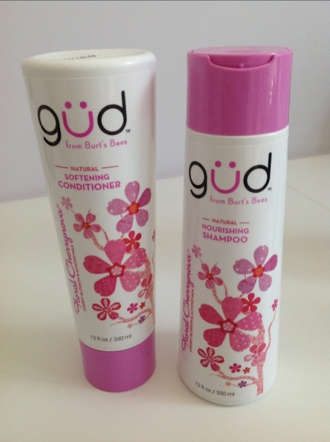 Gud Shampoo & Conditioner from Burt's Bees