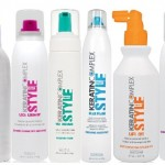 Keratin Complex Style Therapy, hairspray, dry shampoo, spray conditioner, styling oil, boosting foam, gel