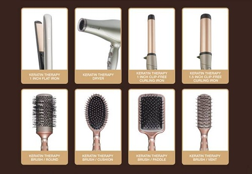 Remington Launches Keratin Therapy Tools