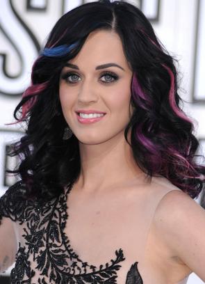 Katy Perry Dip Dye