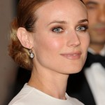 Diane Kruger chignon, Diane Kruger hair, Diane Kruger hair style, Diane Kruger hairstyle