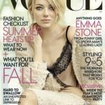Emma Stone Vogue Cover, emma Stone hair, emma stone hair style, emma Stone hairstyle