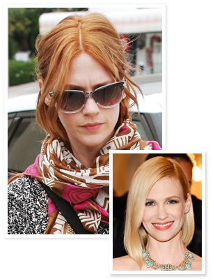 January Jones Red Hair, january jones hair, january jones hairstyles