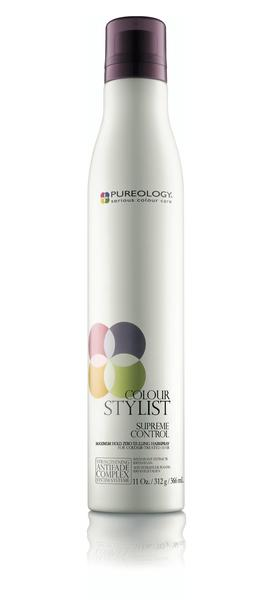 Pureology Launches Supreme Control Hairspray