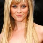 Reese Witherspoon, Reese Witherspoon hair, Reese Witherspoon hairstyle,Reese Witherspoon fringe bangs