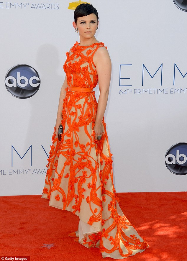 Ginnifer Goodwin 2012 Emmys