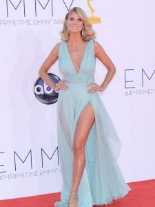 Heidi Klum Emmy Awards 2012