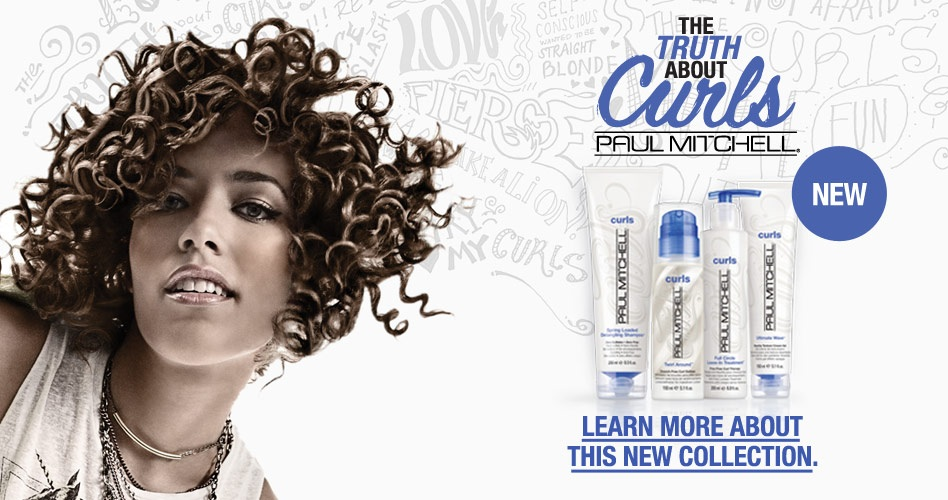 Paul Mitchell Launches Products Just For Curlies!