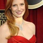 jessica chastain, hair, SAG's, vidal sassoon