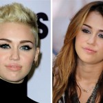 miley cyrus, hair, short hair, change