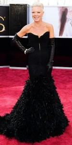 Tabatha Coffey at the Oscar's Red Carpet!
